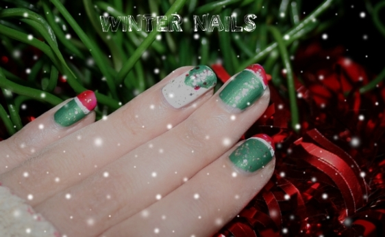 Winter nails 3