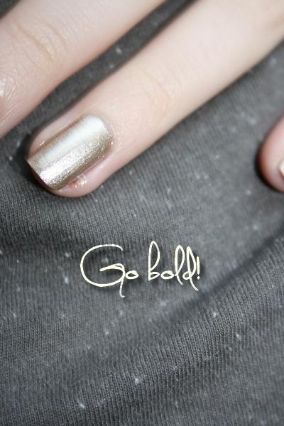 Go bold 2