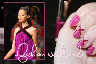 Fasion week nails