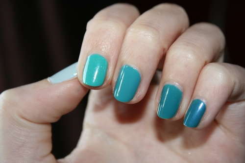 Ombre turquoise3